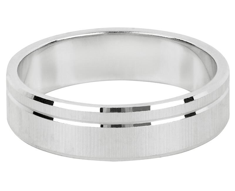 Brilio Silver Strieborný snubný prsteň pre mužov a ženy 422 001 09073 04 - 4,84 g 50 mm