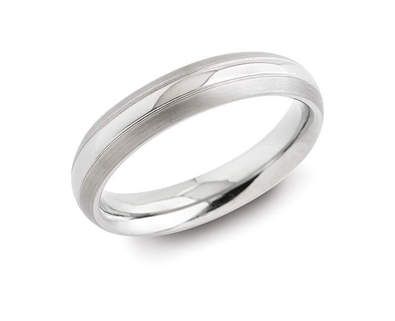 Boccia Titanium Snubný titánový prsteň 0131-01 64 mm