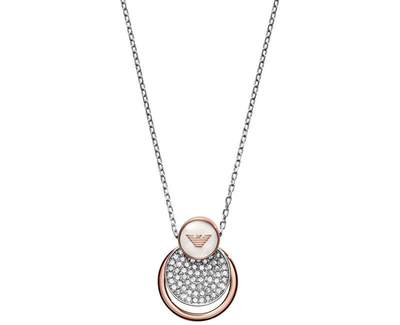 Emporio Armani Luxusné náhrdelník EGS2365040