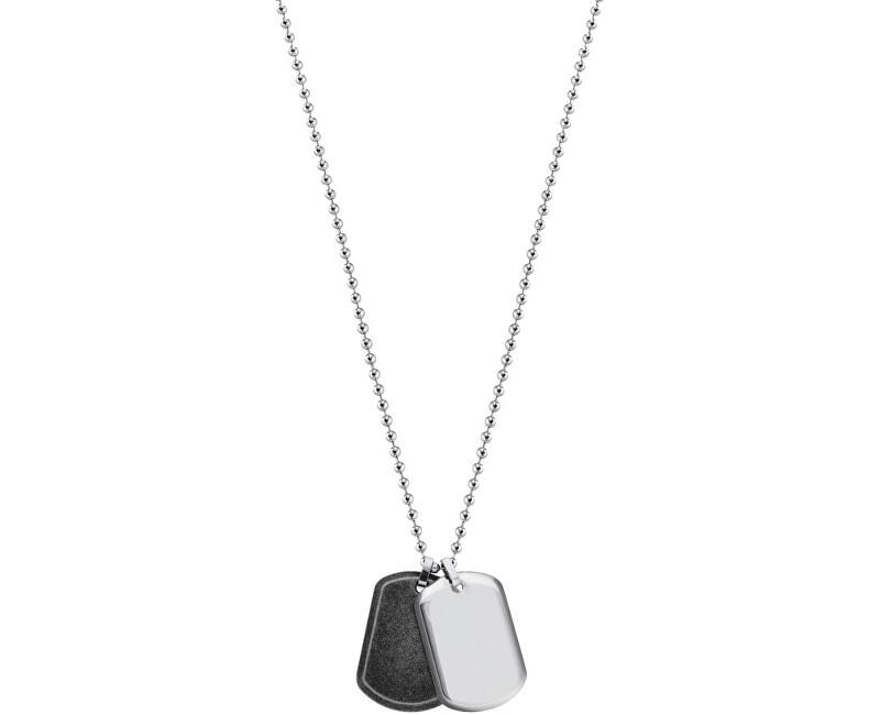 Morellato Pánsky oceľový náhrdelník Cross SAHU01