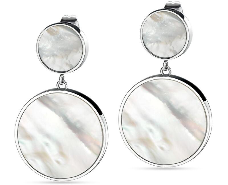 043e08c46 Morellato Strieborné visiace náušnice s perleťou Perfetti SALX07