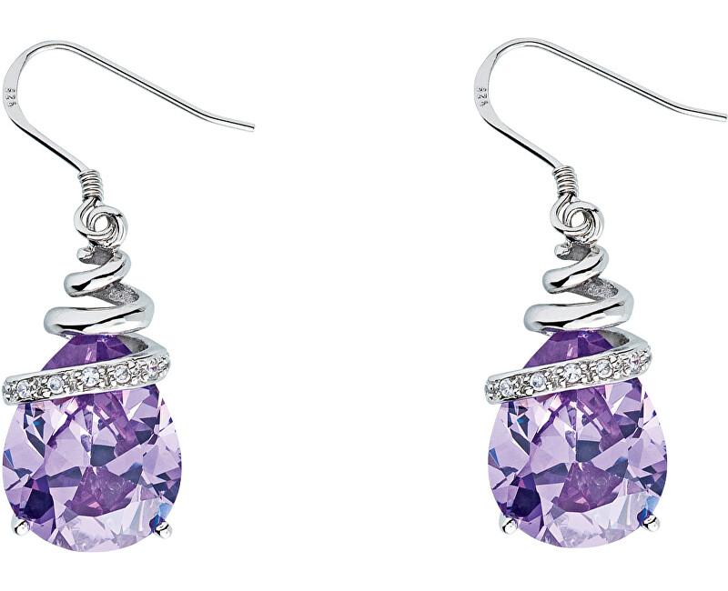 Preciosa Náušnice Elegant Violet 5027 56