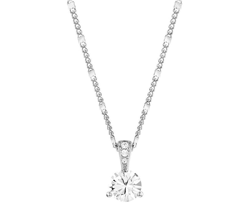 Swarovski Trblietavý náhrdelník SOLITAIRE 1800045