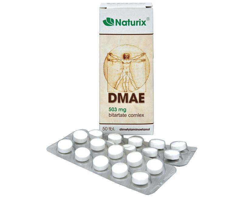 DMAE 503mg Bitartate Complex 50 tbl.