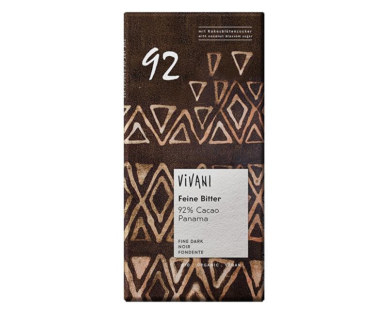 VIVANI Bio Eg horká čokoláda 92% 80g