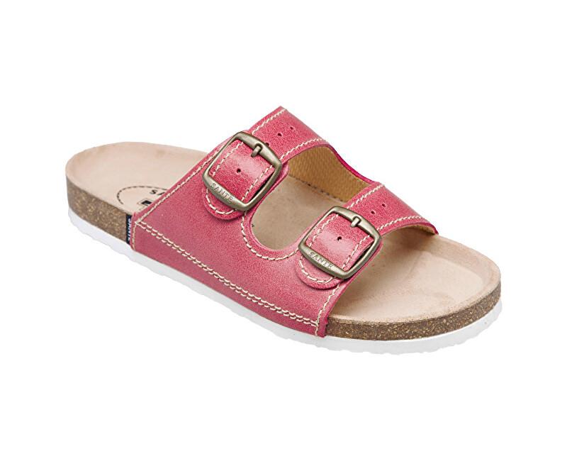 SANTÉ Zdravotná obuv dámska D / 21 / C30 / BP svetlo červená vel. 35