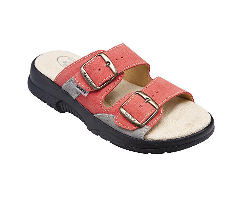 SANTÉ Zdravotná obuv dámska N / 517/33/36/18 / CP oranžová vel. 39