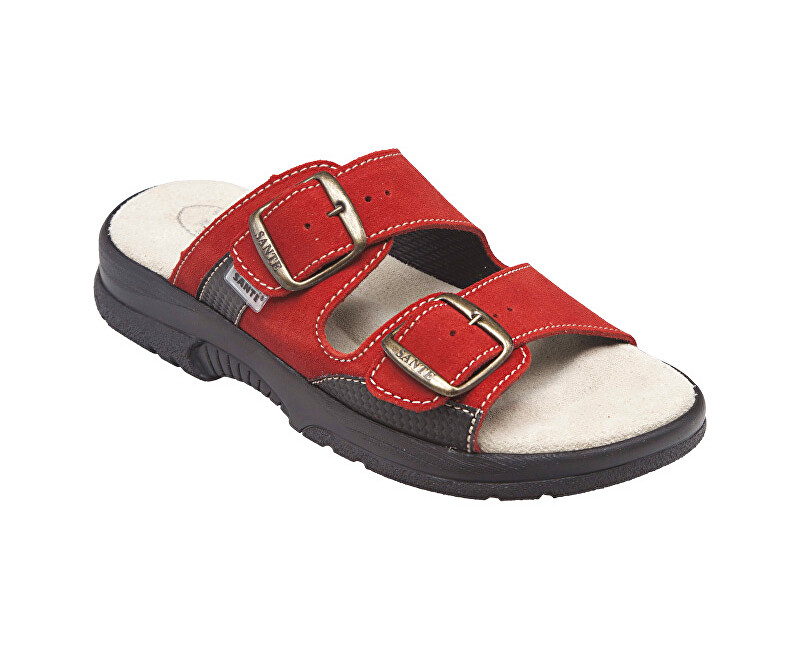 SANTÉ Zdravotná obuv dámska N / 517/33/38 / CP červená vel. 39