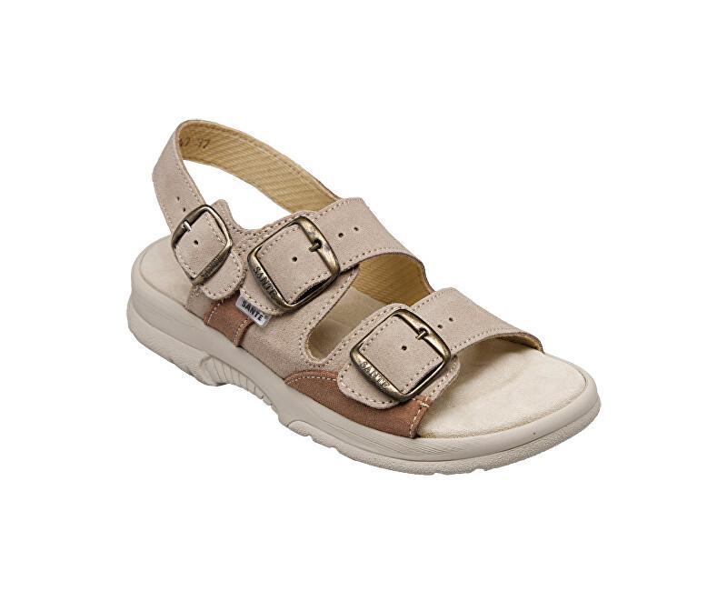 SANTÉ Zdravotná obuv dámska N / 517/43/28/47 / SP béžová vel. 37