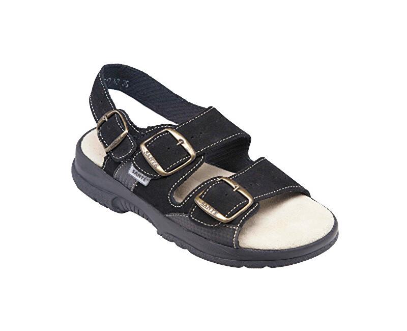 SANTÉ Zdravotná obuv dámska N / 517/43/68 / CP čierna vel. 37