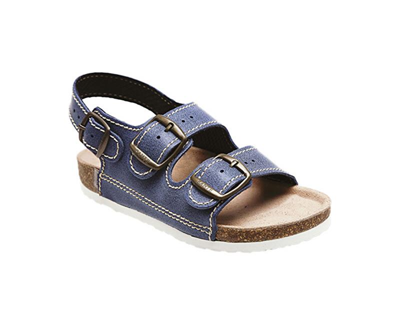 SANTÉ Zdravotná obuv detská D / 303/86 / BP modrá vel. 34