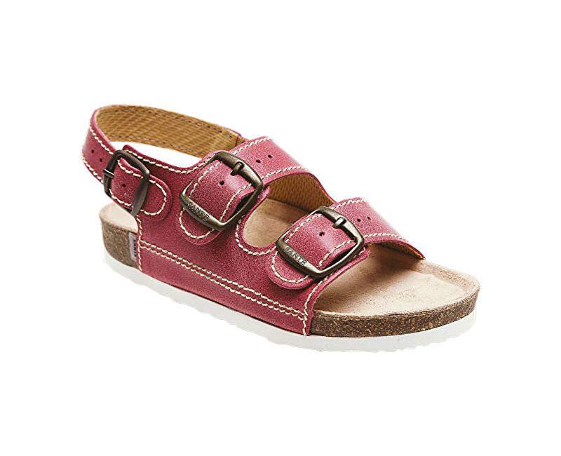 SANTÉ Zdravotná obuv detská D / 302 / C30 / BP červená vel. 33