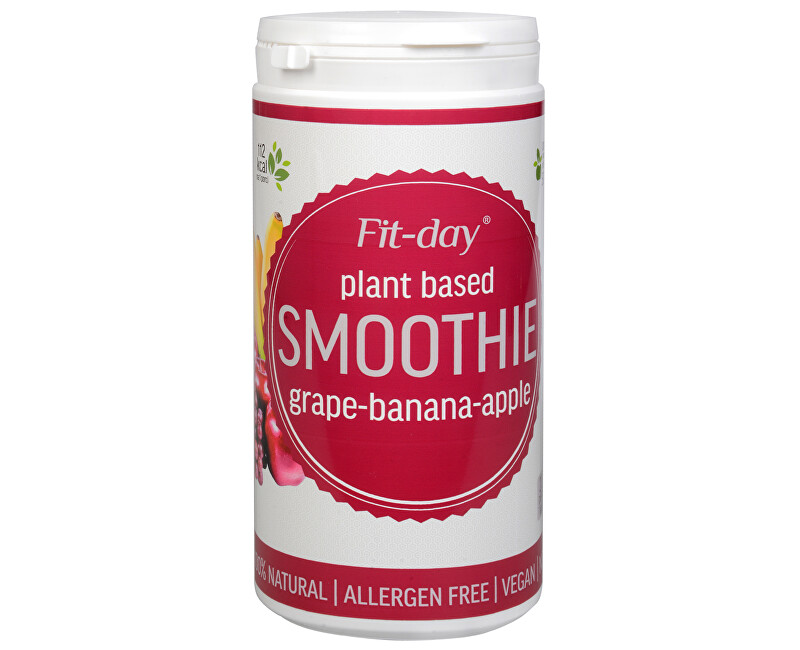 Fit-day smoothie hrozno, banán, jablko 600g