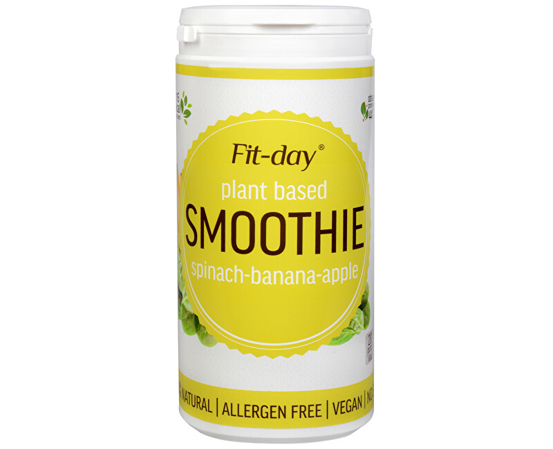 Fit-Day Plant based smoothie 600 g