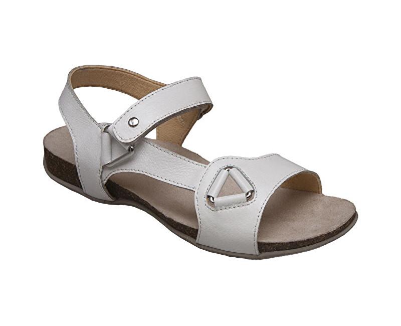 SANTÉ Zdravotná obuv dámska EKS / 154-27 biela vel. 38