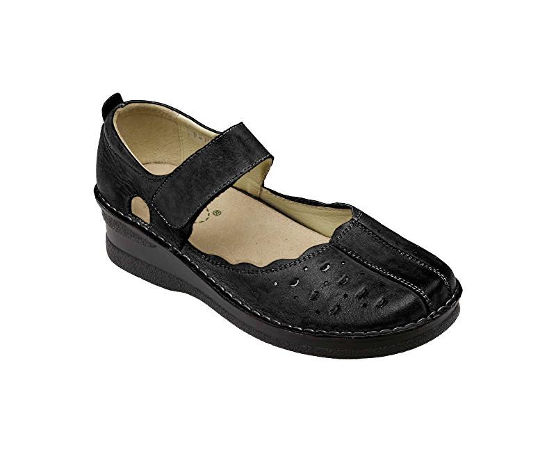 04beb70ddd8c4 SANTÉ Zdravotná obuv dámska HPM / 4855 čierna vel. 37