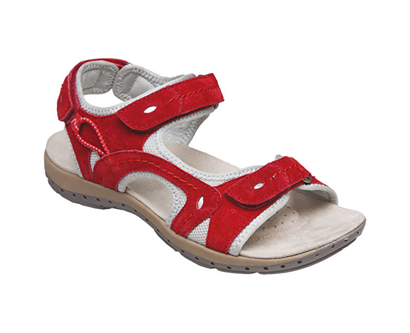 SANTÉ Zdravotná obuv dámska MDA / 157-7 červená vel. 38