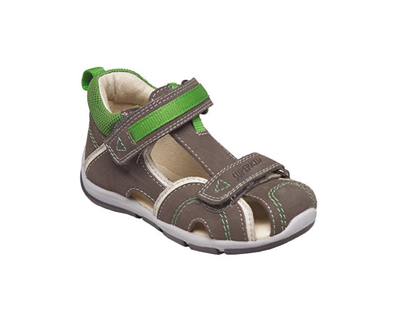SANTÉ Zdravotná obuv detská SK / 333 khaki-green vel. 20