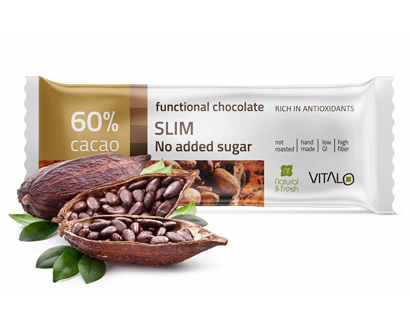Vitalo Funkčné čokoláda SLIM 25g
