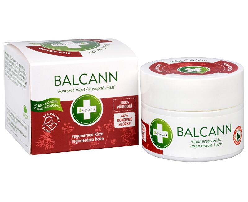 Annabis BIO Balcann - konopná masť 50 ml - ZĽAVA - poškodená krabička