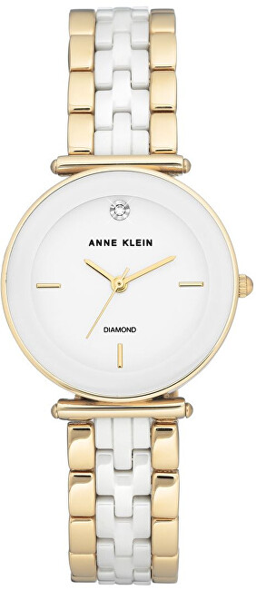 Anne Klein Diamond AK N3158WTGB