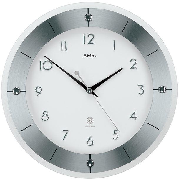 AMS Design Rádiově řízené nástěnné hodiny 5848