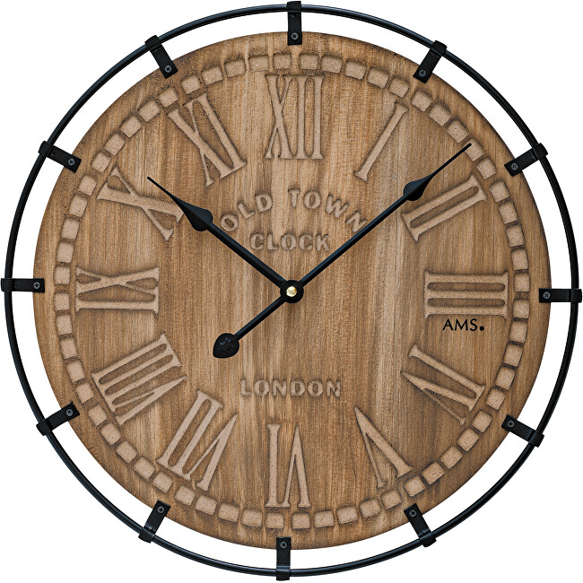 AMS Design Nástěnné hodiny 9616