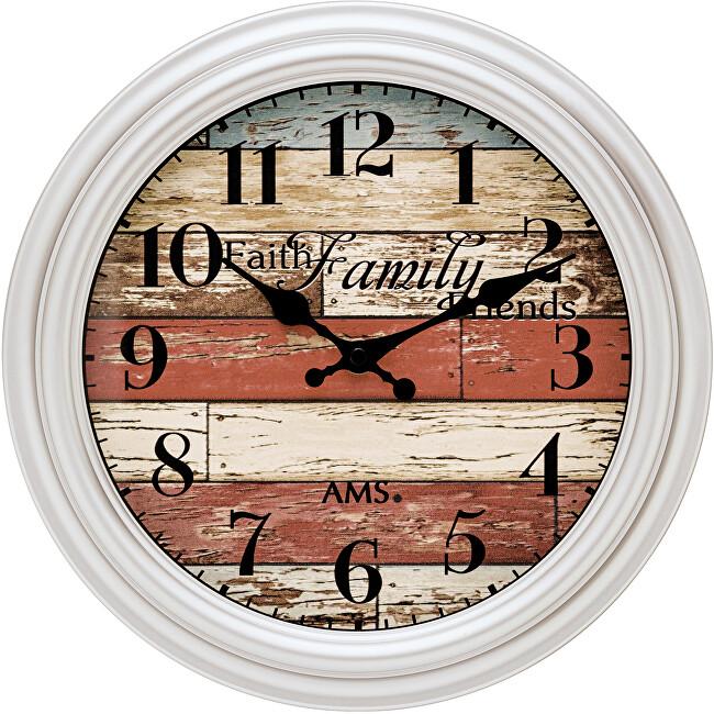 AMS Design Nástěnné hodiny 9618