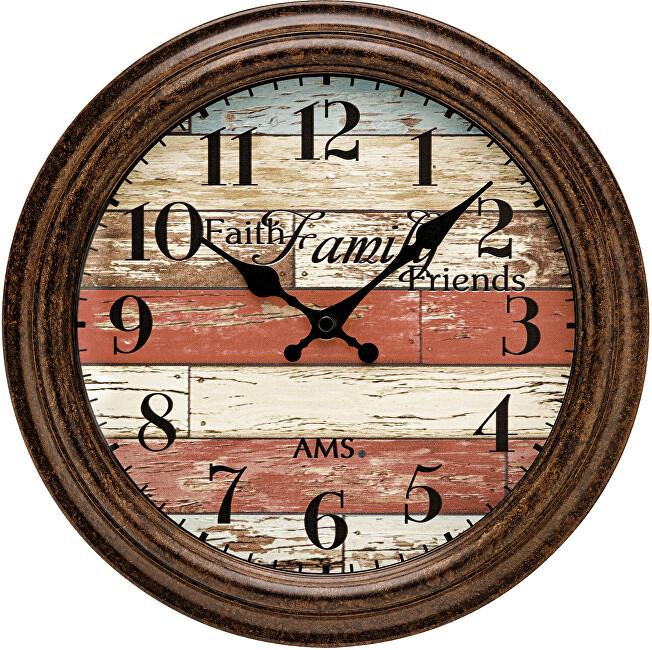 AMS Design Nástěnné hodiny 9619