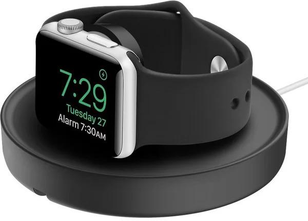 Apple doplňky UNIQ Dome nabíjecí stojánek pro Apple Watch černý