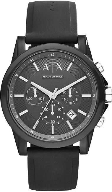 Armani Exchange Black Tech Sport Chrono AX1326