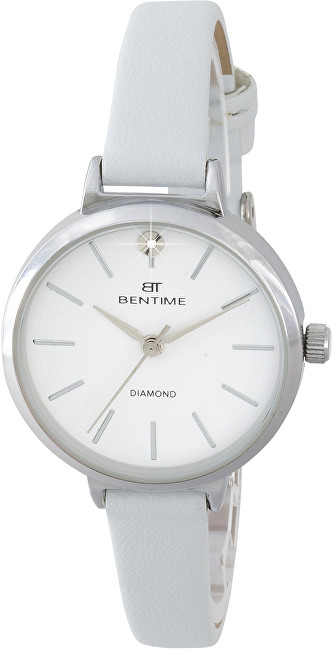 Bentime Dámské hodinky s diamantem 007-9MB-PT12024D