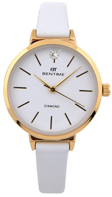 Bentime Dámské hodinky s diamantem 027-9MB-PT12024B
