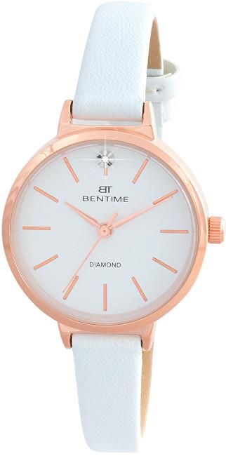 Bentime Dámské hodinky s diamantem 027-9MB-PT12024C