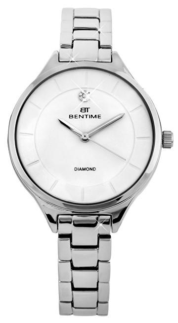 Bentime Dámské hodinky s diamantem 027-9MB-PT12102A