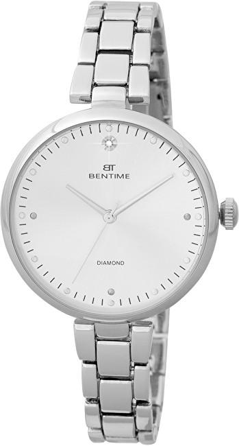 Bentime Dámské hodinky s diamantem 027-9MB-PT12103A