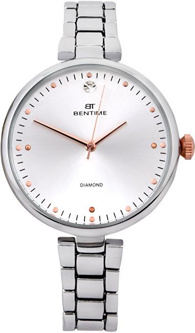 Bentime Dámské hodinky s diamantem 027-9MB-PT12103C