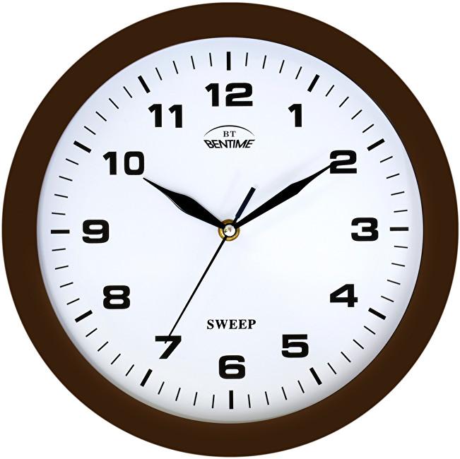 Bentime Nástěnné hodiny H39-SW8047BR