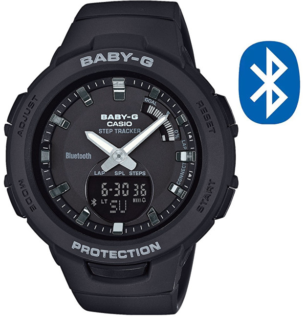 Casio BABY-G Step Tracker Bluetooth BSA B100-1A (620)