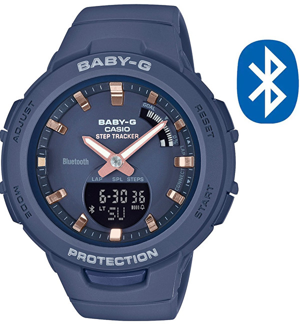 Casio BABY-G Step Tracker Bluetooth BSA B100-2A (620)