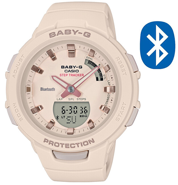Casio BABY-G Step Tracker Bluetooth BSA B100-4A1 (620)
