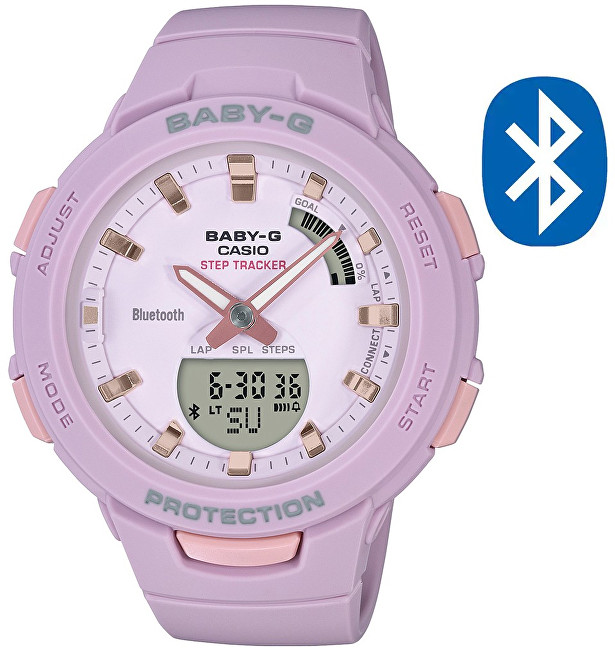 Casio BABY-G Step Tracker Bluetooth BSA B100-4A2 (620)