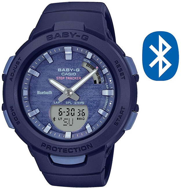 Casio BABY-G Step Tracker Bluetooth BSA-B100AC-2AER (620)