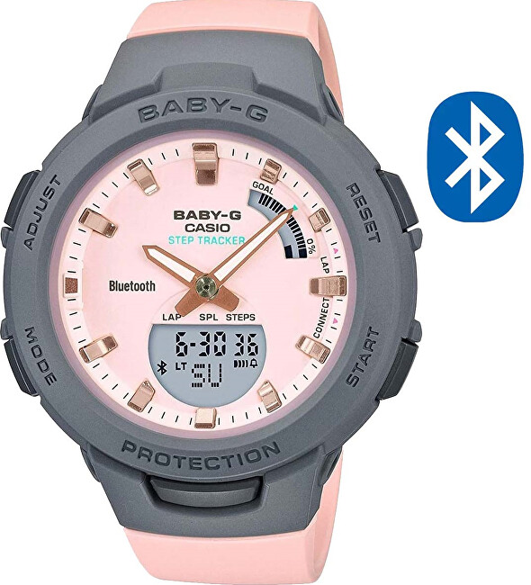 Casio BABY-G Step Tracker Bluetooth BSA-B100MC-4AER (620)
