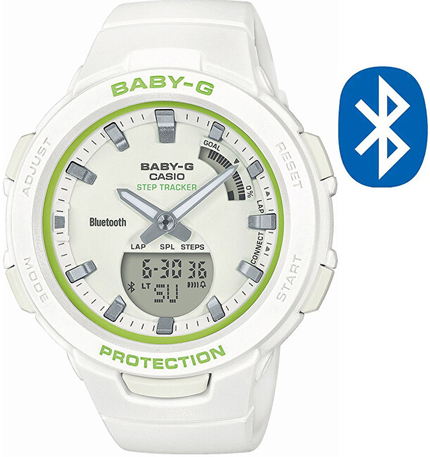 Casio BABY-G Step Tracker Bluetooth BSA-B100SC-7AER (620)