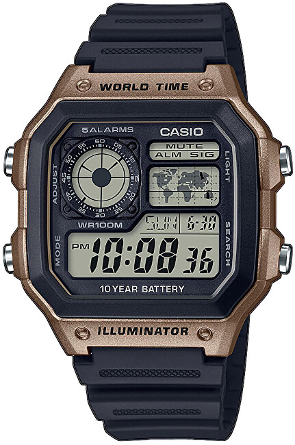 Casio Collection AE1200WH5AVEF 415