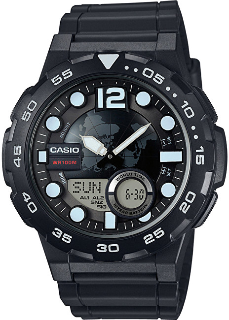 Casio Collection AEQ 100W1A  SLEVA