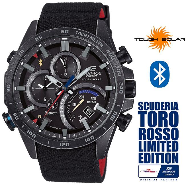 Casio Edifice Bluetooth Connected EQB-501TRC-1AER Solar Limited Edition Scuderia Toro Rosso