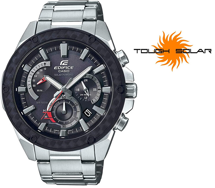 Casio Edifice Solar Premium CARBON EQS-910D-1AV