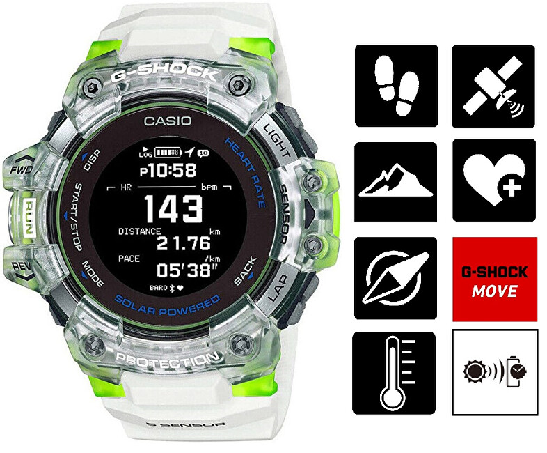 Casio G-Shock Bluetooth Solar GBD-H1000-7A9ER (645)